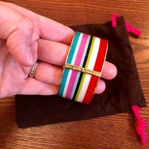 Kate Spade bangle, multicolor statement piece